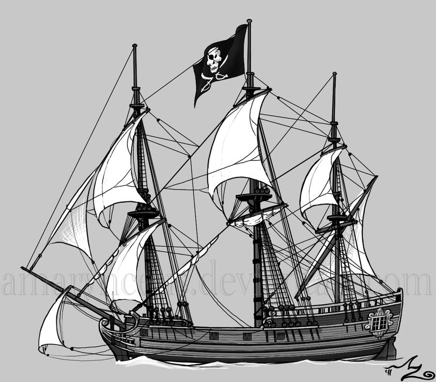 Pirate Ship by Amarynceus