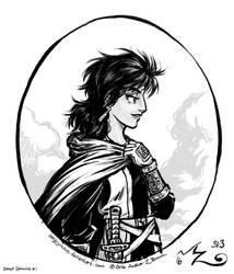 Daily Drawing 001 - Eris by Amarynceus