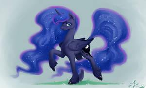 Moon Horse by Amarynceus
