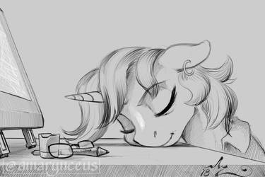 Daily Doodle 997 by Amarynceus