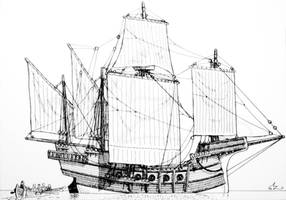 Venetian Cog by Amarynceus