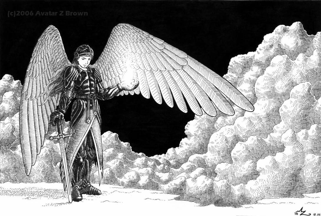 Warrior Angel by Amarynceus