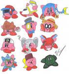Kirby Hats: RedBanana125