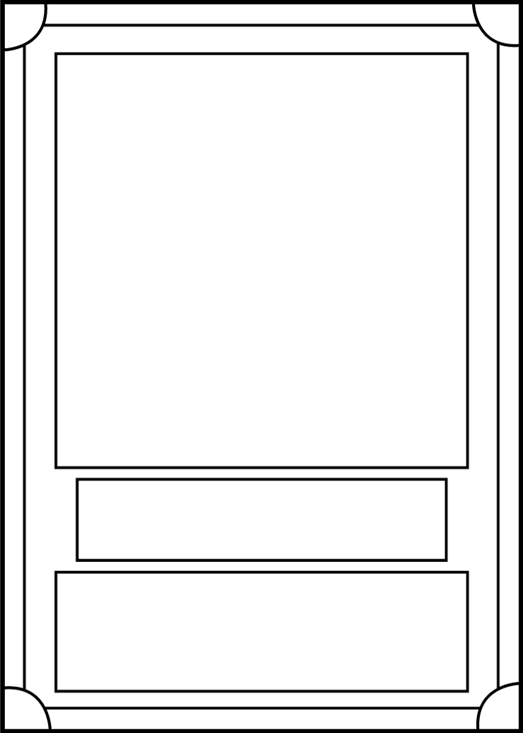 trading card template front by blackcarrot1129 on deviantart. Black Bedroom Furniture Sets. Home Design Ideas