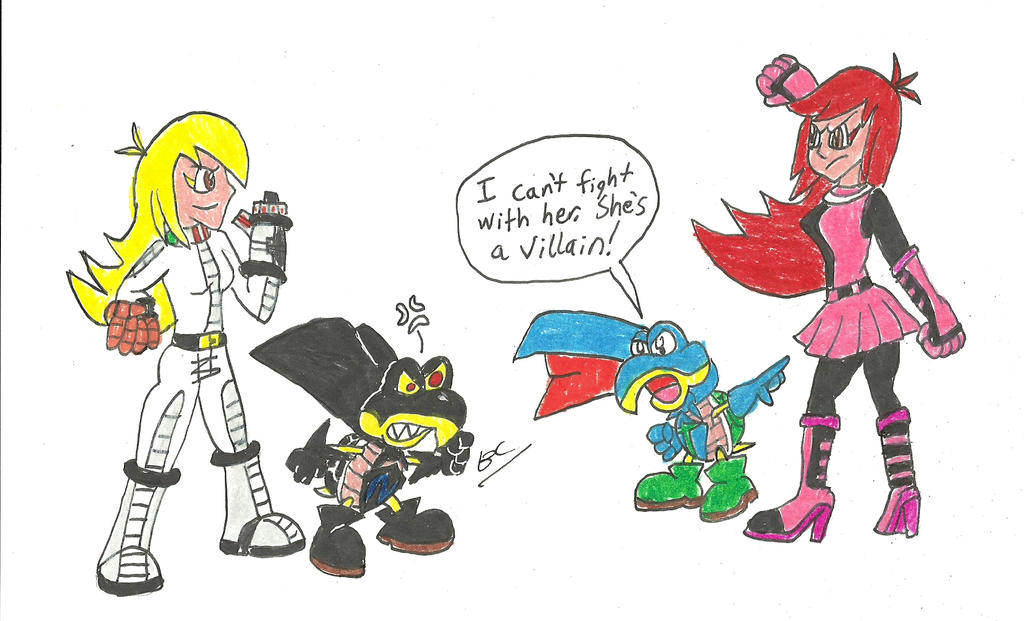 Rhay and Nega Troopa vs Gaz and Super Troopa by BlackCarrot1129