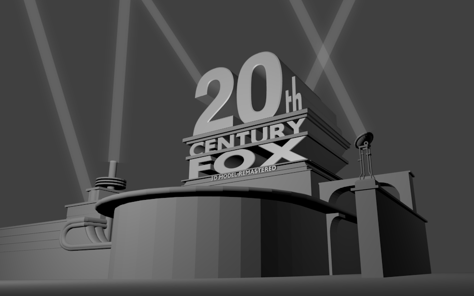 20th Century Fox 3DS Max Model Remastered by RSMoor on ...