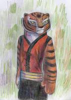 Tigress:color pencils by Suzamuri