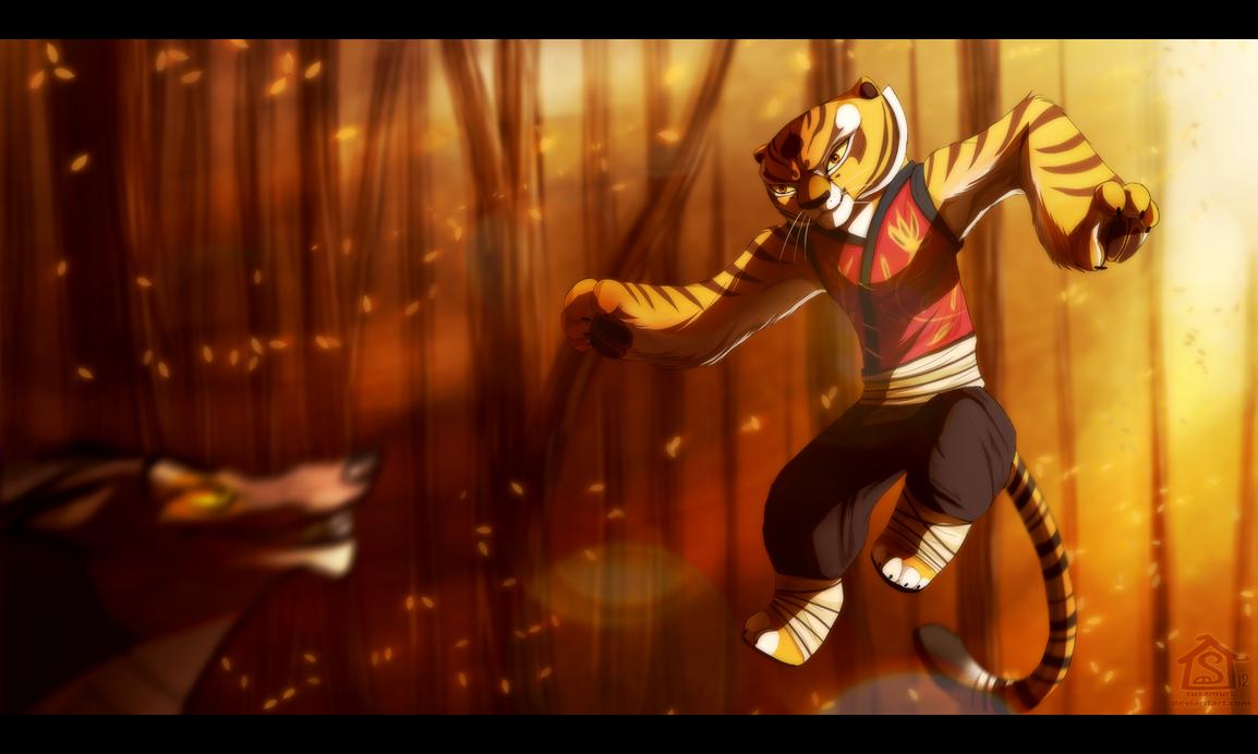 Battle Tigress. by Suzamuri