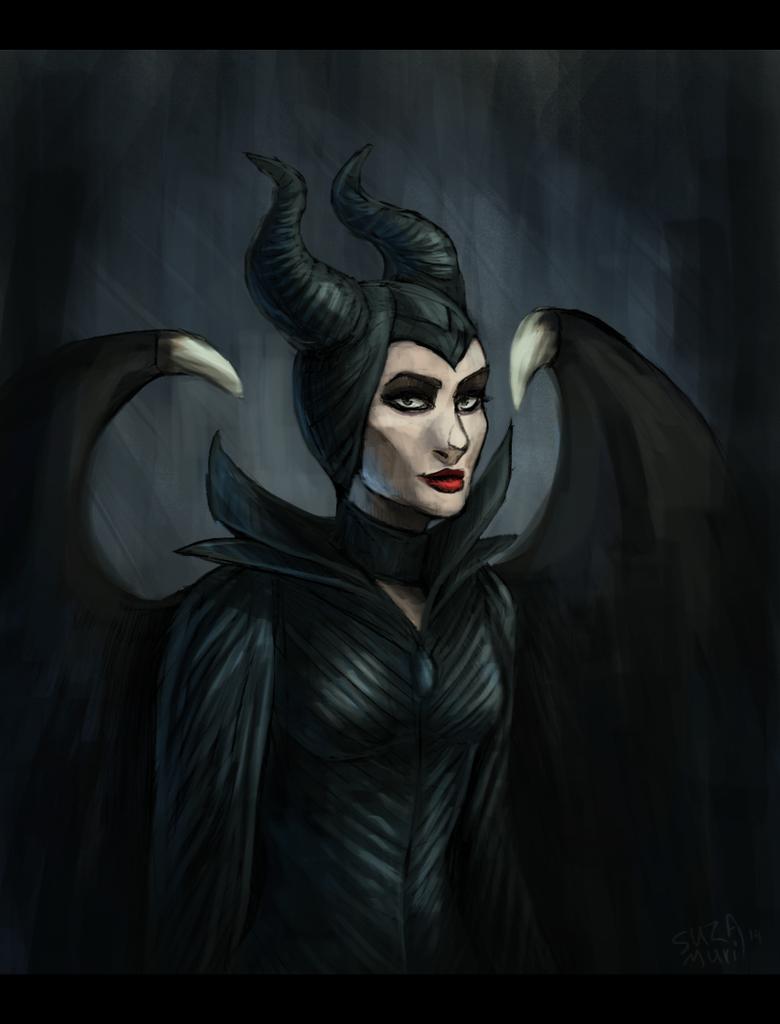 Maleficent. by Suzamuri