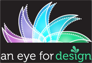 An Eye for Design Blog Logo by drkdsgn