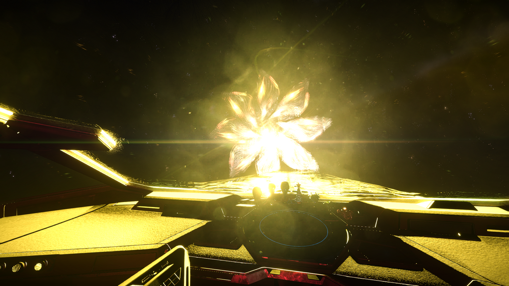 Elite Dangerous: First Contact with Unknown Ship. by Laywa93