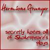 HP Secrets 5 - Hermione by FrozenOrangeJuice