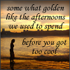 Golden Afternoons by FrozenOrangeJuice