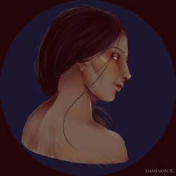 Portrait Study by Silverleinchen