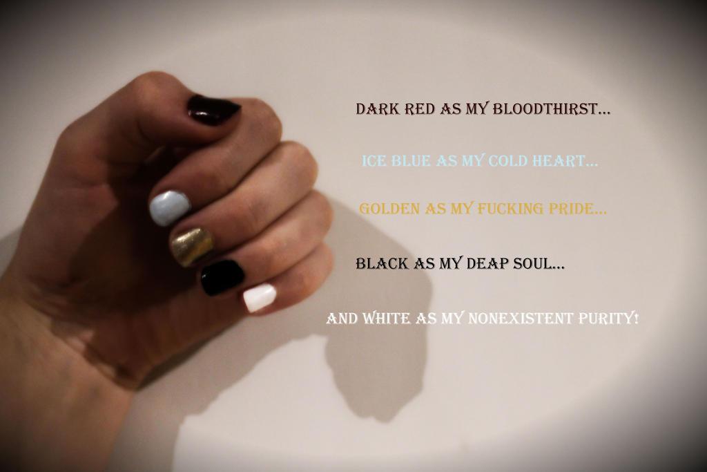 Nail-polish quote by BlackDog1424
