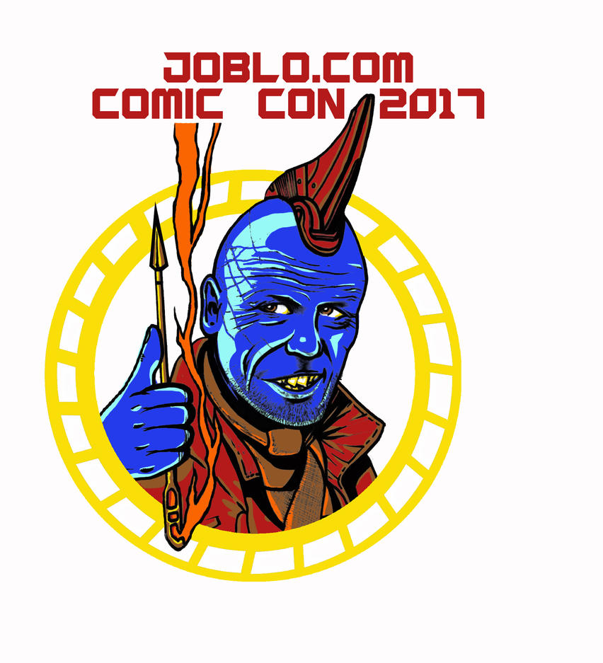 It's Con Time A-Holes JoBlo SDCC 2017 T-Shirt back by ArcticNinja77