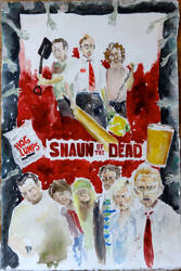 The First Flavor: Shaun of The Dead by LasrinDync