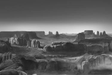 Monument Valley by LasrinDync