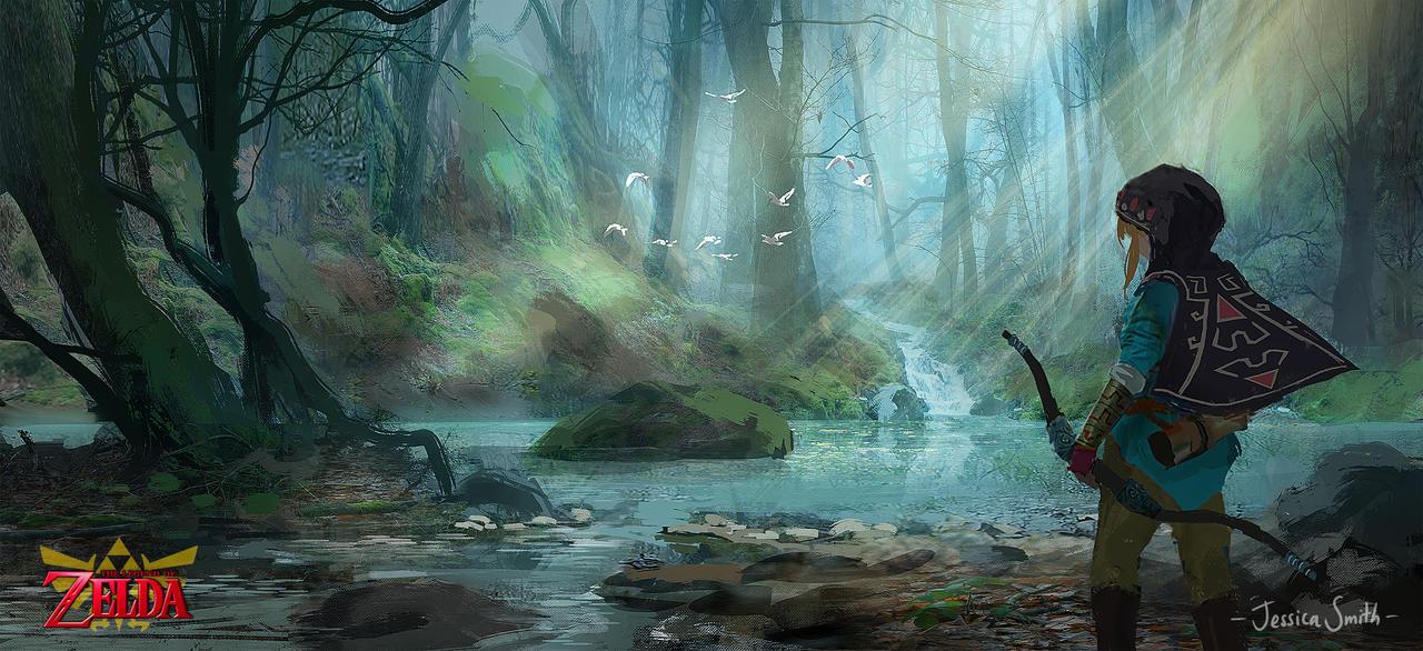 Zelda Open World by Mei-Xing