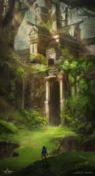 Forest Temple - Zelda Open World by Mei-Xing