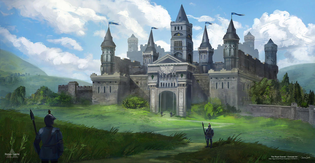Hyrule Castle - for 'The Royal Guards' by Mei-Xing