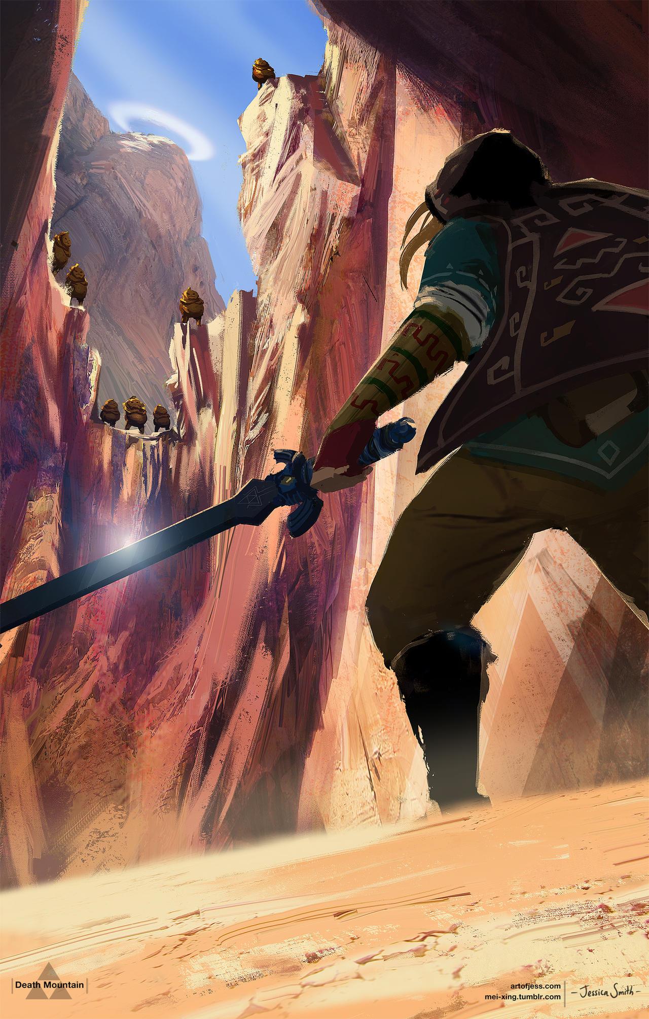 Death Mountain - Zelda Open World by Mei-Xing