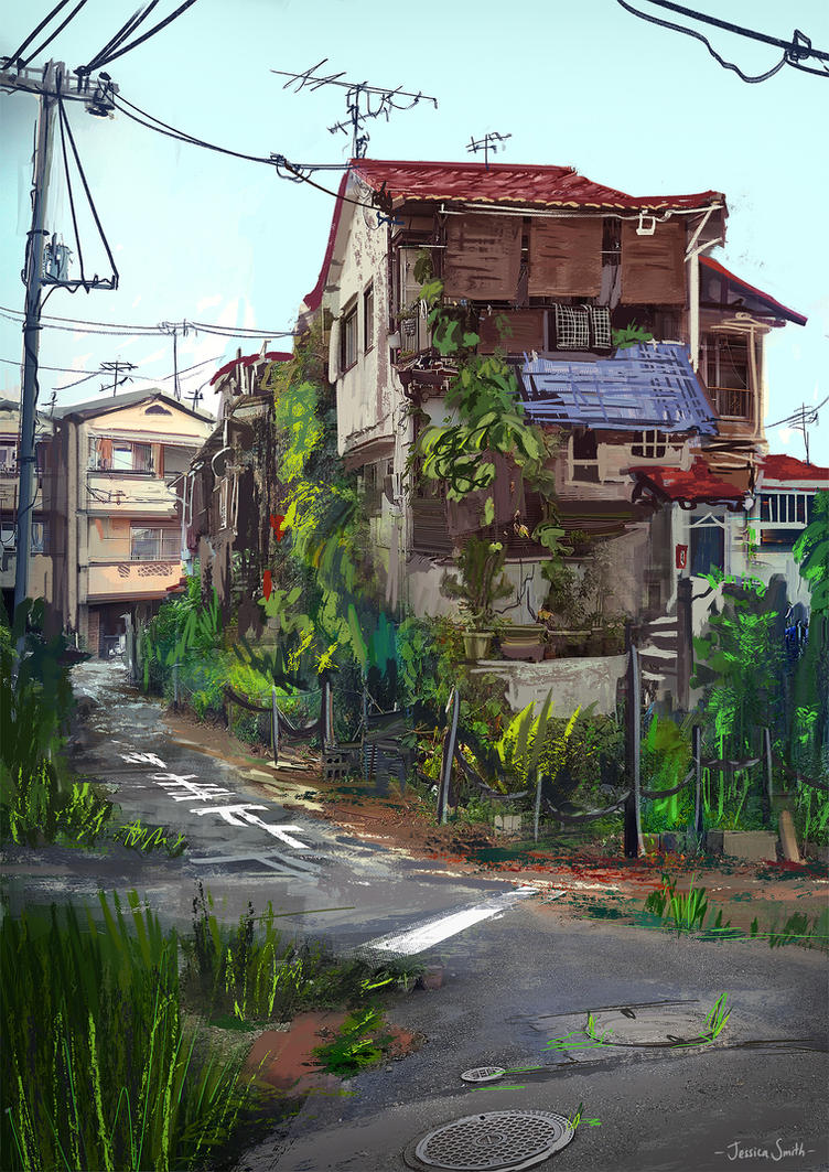 Neyagawa Houses by Mei-Xing