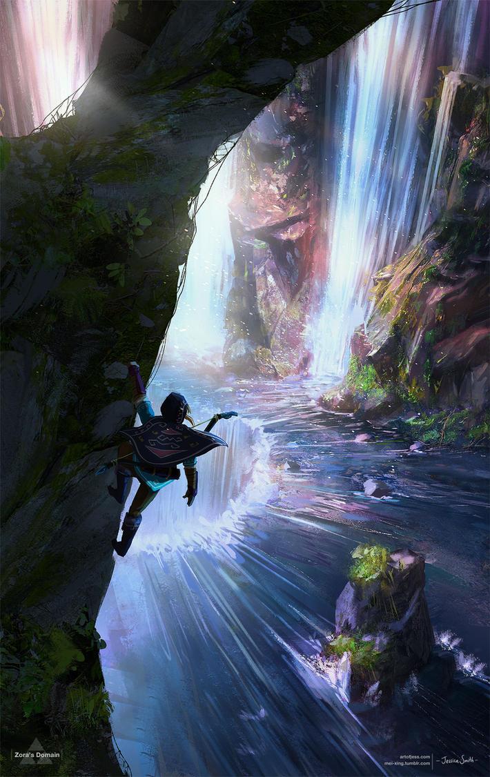 Zora's Domain - Zelda Open World by Mei-Xing