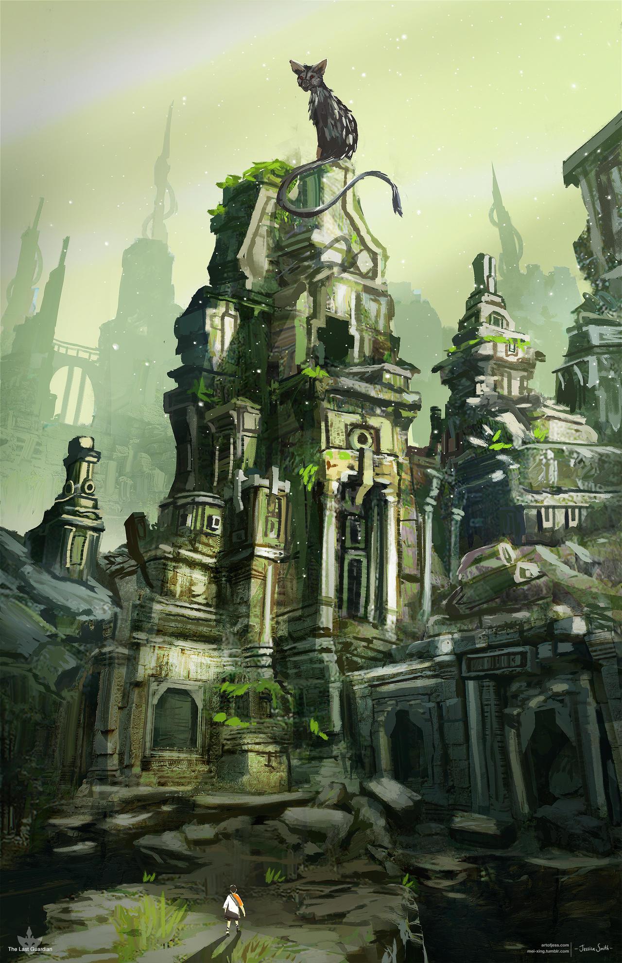 The Last Guardian - fanart 2 by Mei-Xing