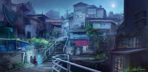 Blue Alter Ego: Exploring the Island