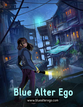 Blue Alter Ego Cover Art