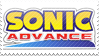 Sonic Advance Stamp by ElkeCanus