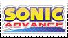 Sonic Advance Stamp by ElkeCanus