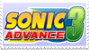 Sonic Advance 3 Stamp by Wastelands-Knight