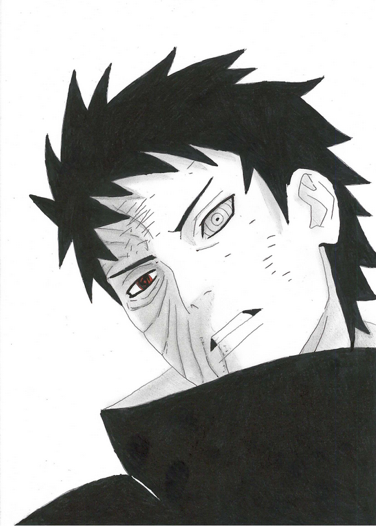 Obito Drawings Images ...