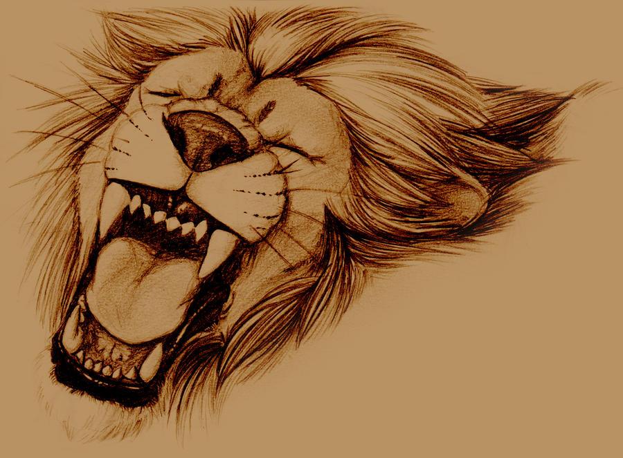 Lion by SargassosArt