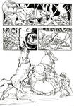 CoTF Pages- Action/Reaction by SargassosArt