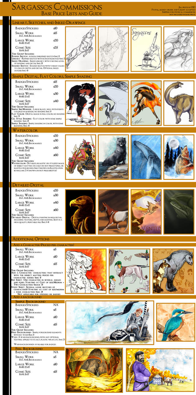 Buy Here Pay Here Denver >> Commission Price Guide -OPEN- by SargassosArt on DeviantArt