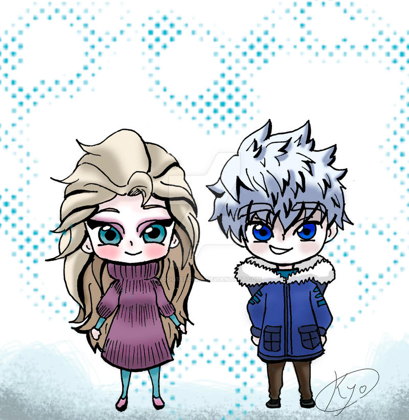 Jelsa cute love by KYOooTERCERA