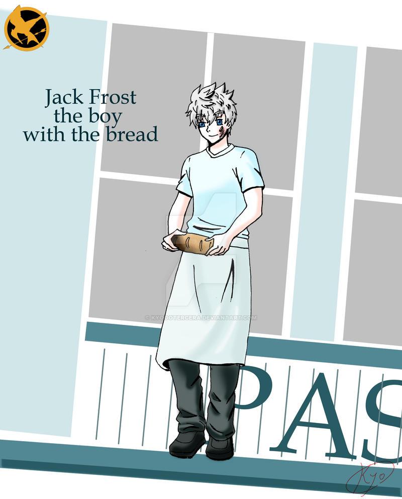 Jack Frost as Peeta  Mellark by KYOooTERCERA