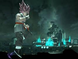Super Saiyan Rose GT Adult Goku