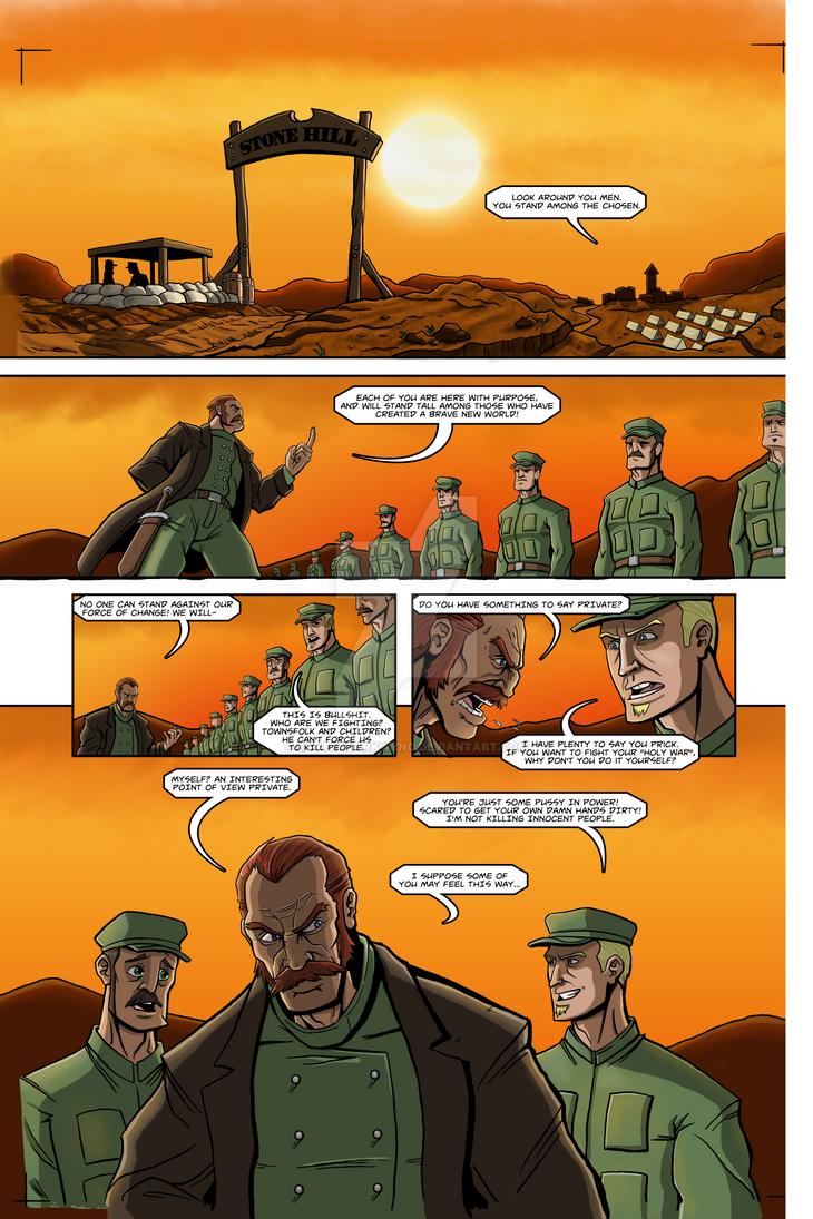 SLING! issue 1 pg8 by sayterdarkwynd