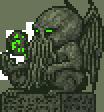 cthulhu artifact statue by sayterdarkwynd