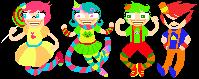 Alpha Kids Trickster Pixel by manyahGO