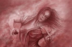 The Violinist by GaspOrium