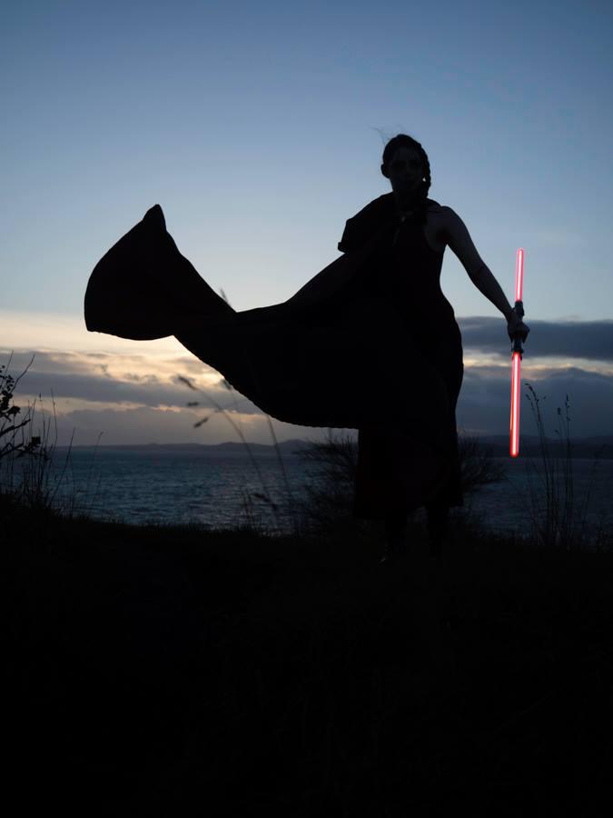 Sith Silhouette by AzaleaJones