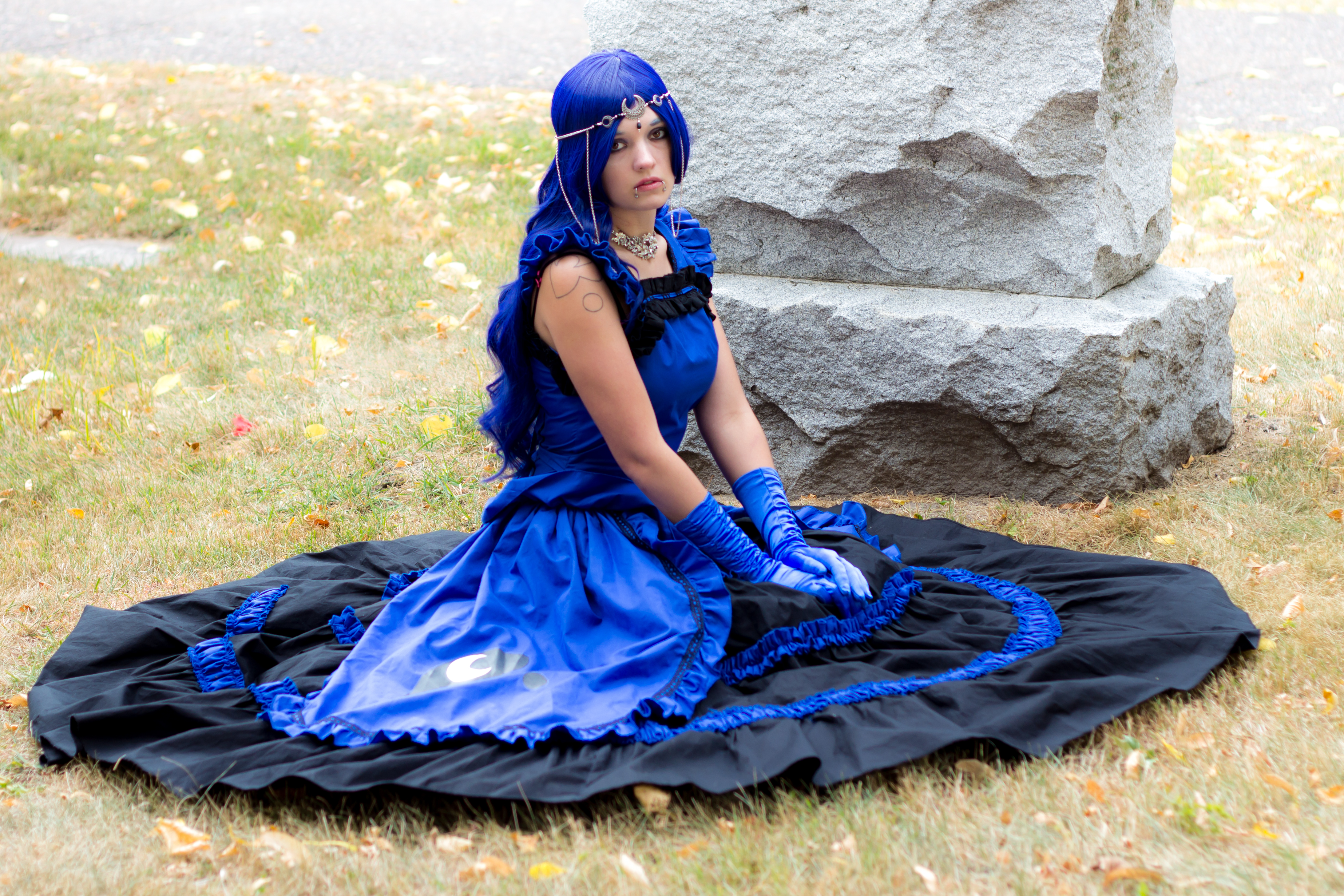 Princess Luna Cosplay Princess Luna Full Sitting By Lilium Dgrkhm