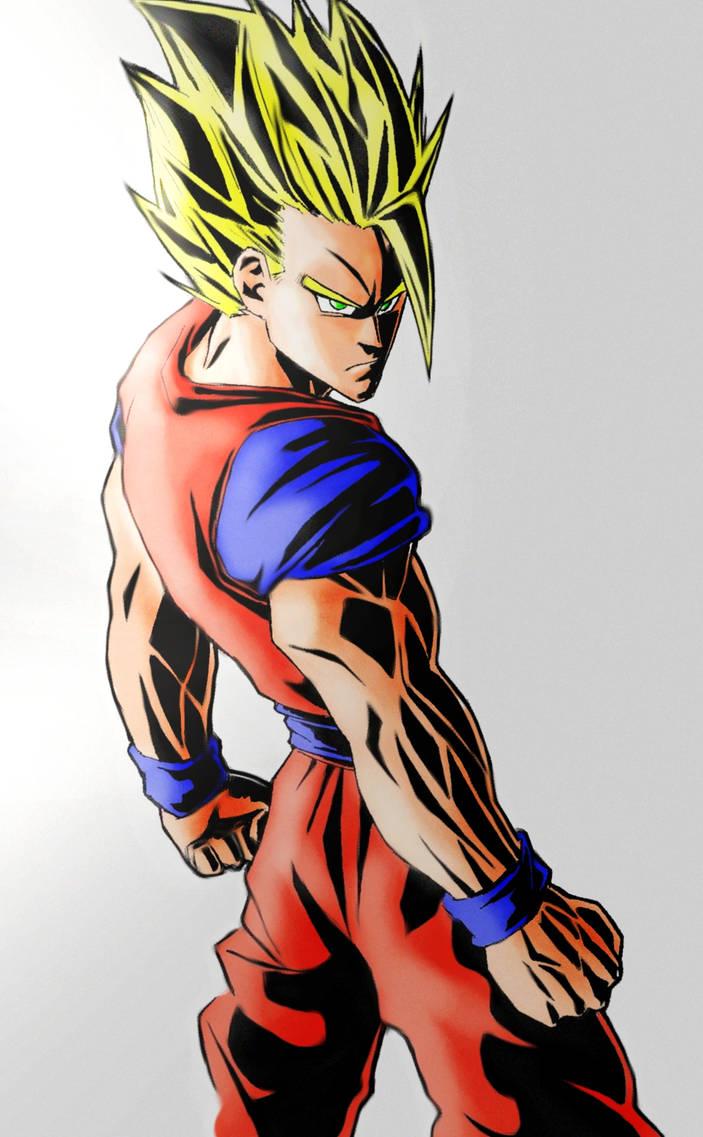 Son Goku by Darko-simple-ART