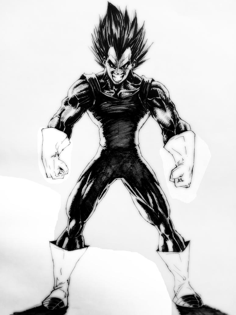 VEGETA by darkogoku