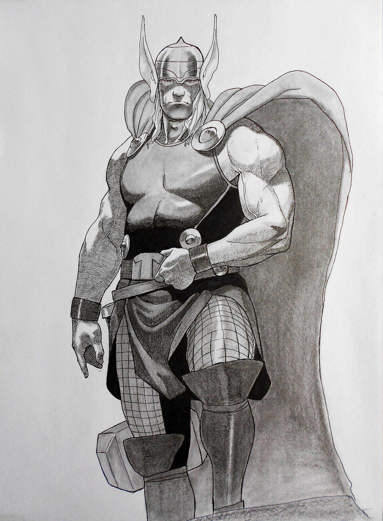 Thor by darkogoku